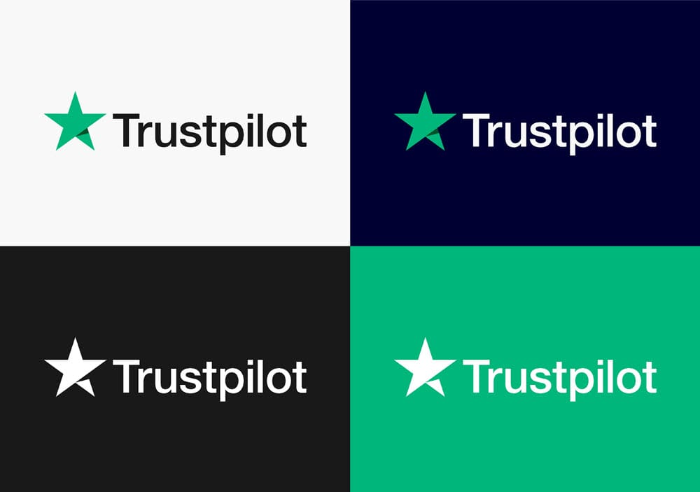 Logo Trustpilot Multicolore